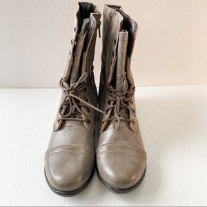 Steven madden grey/brown boots size 6